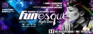 FUNESQUE - EXE Roma - sabato 25 ottobre 2014