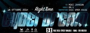 EXE Roma - Buffet - Cena -Disco e Animazione - sabato 18 ottobre 2014