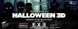 EXE Roma - Halloween 3D - 31 ottobre 2014
