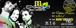 EXE ROMA - EXTRALIVE - giovedì 6 novembre 2014
