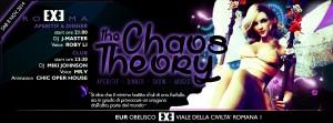 EXE ROMA - The Chaos Theory - sabato 8 novembre 2014