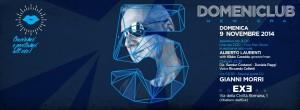 EXE ROMA DISCOTECA - Domenica 9 novembre - DJ GIANNI MORRI
