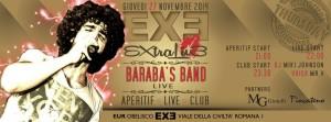 EXE Roma - Baraba's Band - giovedi 27 novembre 2014