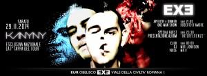 EXE Roma - Interferenze - sabato 29 novembre 2014