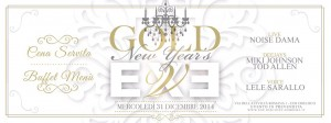 Capodanno 2015 - Gold - Exe Roma