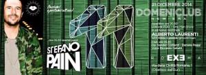 EXE ROMA - Apericena 'n dj Stefano Pain - domenica 21 dicembre 2014