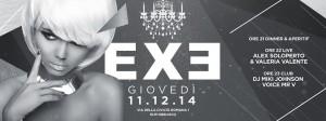 EXE ROMA - Silver - Giovedì 11 dicembre 2014