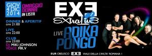 EXE ROMA - ADIKA PONGO - giovedì 4 dicembre 2014