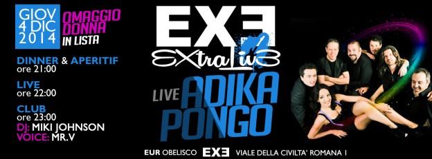 ADIKA PONGO LIVE + OMAGGIO DONNA