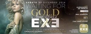 EXE ROMA - ATTENDENDO IL CAPODANNO - sabato 27 dicembre 2014