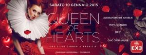 EXE ROMA - QUEEN OF HEARTS - sabato 10 gennaio 2015