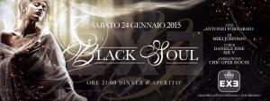 EXE ROMA - BLACK SOUL - sabato 24 gennaio 2015
