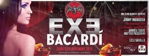 EXE Roma - BACARDI EVENT - sabato 28 novembre 2015