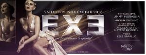 EXE ROMA - STYLISH - sabato 21 novembre 2015