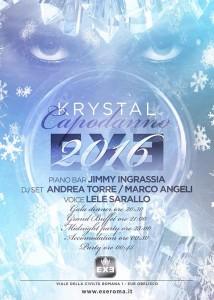 EXE ROMA - Capodanno 2016 - 31 dicembre 2015