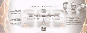 Exe Roma - SAMSARA ON TOUR - sabato 12 marzo 2016