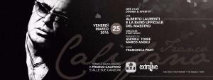 """Exe Roma - Al """"Maestro"""" con la sua band e Alberto LAurenti 'n Disco - venerdì 25 marzo 2016"""