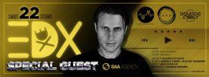Exe Roma - dj EDX Special Guest - sabato 22 ottobre 2016