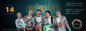 Exe Roma - EXTRALIVE - FOUR VEGAS 'n DISCO - venerdì 14 ottobre 2016