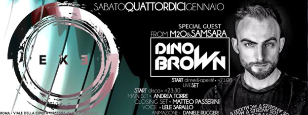 DINO BROWN Special Guest