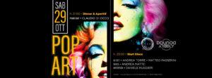 Exe Roma - POP ART DISCO - sabato 29 ottobre 2016