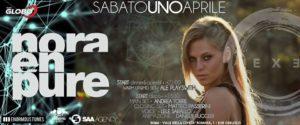 Exe Roma - NORA EN PURE - EVENTO - sabato 1 aprile 2017