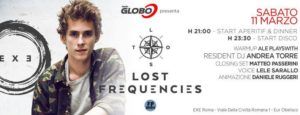 Exe Roma - LOST FREQUENCIES - EVENTO - sabato 11 marzo 2017