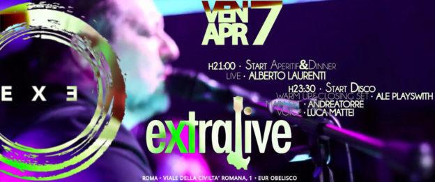 ALBERTO LAURENTI LIVE 'n DISCO – EXTRALIVE