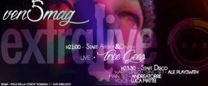 Exe Roma - TREE GEES LIVE 'n DISCO - EXTRALIVE - venerdì 5 maggio 2017