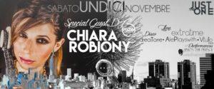 Exe Roma - EXTRATIME live + dj guest CHIARA ROBIONY - Just The One - sabato 11 novembre 2017