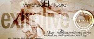 Exe Roma - ALBERTO LAURENTI E RUMBA DE MAR LIVE 'n DISCO - EXTRALIVE - venerdì 6 ottobre 2017