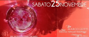 Exe Roma -MARCO LIOTTI live + RED PASSION Night - Just The One - sabato 25 novembre 2017