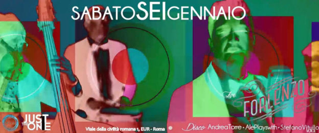 FORLENZO live 'n EPIPHANY PARTY – Just The One