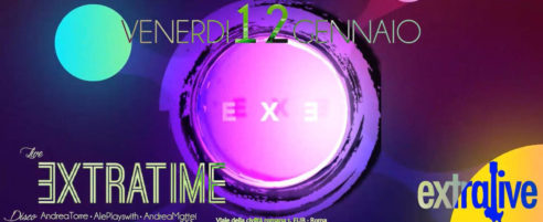EXTRATIME BAND 'n DISCO – EXTRALIVE