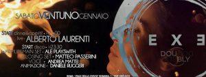Exe Roma - ALBERTO LAURENTI 'N DISCO NIGHT - sabato 21 gennaio 2017